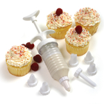 Norpro 9 Piece Cupcake Decorating Icing Set