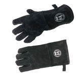 Schmidt Brothers BBQ Leather Grill Gloves, Set of 2