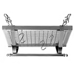 Square Ceiling Rack Chrome Pot Rack