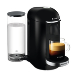 Breville Nespresso VertuoPlus Deluxe Piano Black Espresso and Coffee Machine
