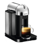 Breville Nespresso Vertuo Chrome Espresso and Coffee Machine