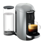Breville Nespresso VertuoPlus Deluxe Silver Espresso and Coffee Machine