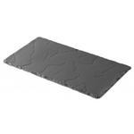 Revol Basalt Slate Porcelain 11.75 x 6.25 Inch Rectangular Serving Plate