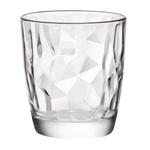 Bormioli Rocco Diamond Clear 13.25 Ounce Double Old Fashion Glass