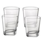 Bormioli Rocco Cometa Clear 12.5 Ounce Double Old Fashioned Glass, Set of 4