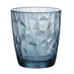 Bormioli Rocco Blue Diamond 13.25 Ounce Double Old Fashion Glass