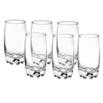 Bormioli Rocco Galassia Clear 14 Ounce Long Drink Beverage Glass, Set of 6