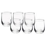 Bormioli Rocco Riserva 13 Ounce Double Old Fashioned Glass, Set of 6