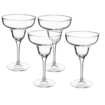 Bormioli Rocco Ypsilon 11.25 Ounce Margarita Glass, Set of 4