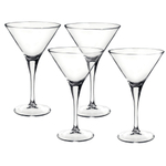 Bormioli Rocco Ypsilon 8.25 Ounce Martini Glass, Set of 4