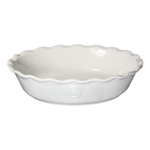 Emile Henry Sugar Ceramic 9 Inch Pie Dish