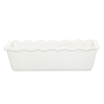 Emile Henry Flour Ceramic 1.4 Quart Small Ruffled Loaf Dish