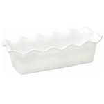 Emile Henry Flour Ceramic Large Ruffled Loaf Dish