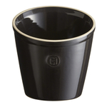 Emile Henry Charcoal Ceramic 5.5 Inch Utensil Pot
