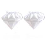 Lékué Silicone Diamond Ice Block, Set of 2