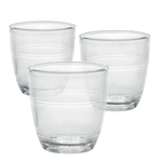 Duralex Gigogne Glass 3.1 Ounce Tumbler, Set of 6