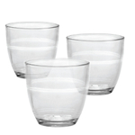 Duralex Gigogne Glass 5.5 Ounce Tumbler, Set of 6