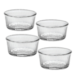 Duralex Glass 3.5 Inch Ramekin, Set of 4