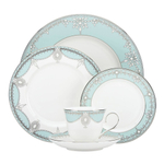 Lenox Marchesa Empire Pearl Turquoise 5-Piece Dishware Place Setting