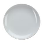 O-Ware White Stoneware 8 Inch Salad Luncheon Plate