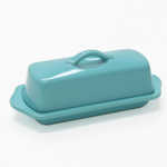 Chantal Ceramic 8.5 Inch Full-Size Butter Dish