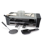 Swissmar Locarno Pizza Raclette Party Grill with Granite Stone