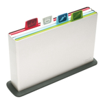 Joseph Joseph Large Index Chopping Board Set with Silver Case
