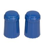 Omniware Simsbury Blue Stoneware Salt & Pepper Set