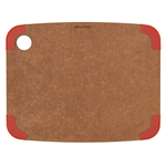 Epicurean Nonslip Series Nutmeg with Red Corners 11.5 × 9 Inch Cutting Board