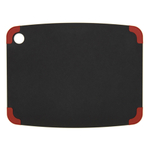 Epicurean Nonslip Series Slate with Red Corners 14.5 × 11.25 Inch Cutting Board