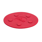 Lodge Red Silicone 8 Inch Large Magnetic Trivet