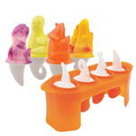 Tovolo Silicone Dino Ice Pop Mold, Set of 4