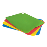 Tovolo Silicone Large Flexible Cutting Mat, Set of 4