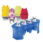 Tovolo Silicone Monsters Ice Pop Mold, Set of 4