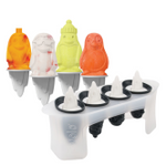 Tovolo Silicone Penguin Ice Pop Mold, Set of 4