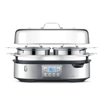 Breville Steam Zone Electric Steamer with 16 Inch Tray and Two Baskets