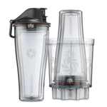 Vitamix 3 Piece 20 Ounce Personal To-Go Blender Cup and Adapter Set