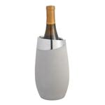 Nambé Forte Alloy and Concrete 8.5 Inch Single Wine Bottle Chiller