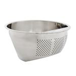 Helen Chen's Asian Kitchen Stainless Steel 3 Quart Rice Washing Bowl