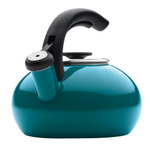 BonJour Blue Enamel on Steel 1.5 Quart Teakettle