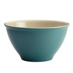 Rachael Ray Cucina Blue Melamine Garbage Bowl