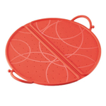 Kuhn Rikon Red Silicone Large 12 Inch Foldable Splatter Guard