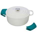 Le Creuset Caribbean Silicone Pot Grips, Set of 2