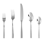 Fortessa Lucca Stainless Steel 20 Piece Flatware Set