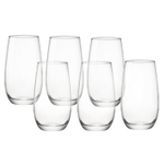 Bormioli Rocco New Kalix 13.5 Ounce Cooler Glass, Set of 12