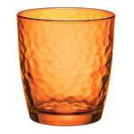 Bormioli Rocco Palatina Orange 10.75 Ounce Rocks Glass