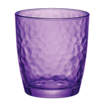 Bormioli Rocco Palatina Purple 10.75 Ounce Rocks Glass