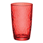 Bormioli Rocco Palatina Red 16.5 Ounce Cooler Glass