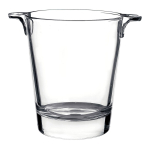 Bormioli Rocco Ypsilon Clear Glass 44 Ounce Ice Bucket