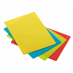 Rosle Multicolor 18 x 14 Inch Cutting Mat, Set of 4